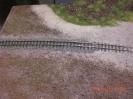 die restlichen Gleisstücke sind geschottert