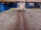 das Ladegleis am Prellbock
