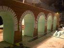 Außerdem wurden die Pfeiler unten begradigt um eine waagerechte Aufstandsfläche zu erhalten.