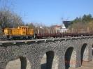 Und noch ein paar Bilder mit dem Güterzug.